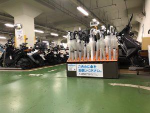 阪急御影駅前地下自転車駐輪場