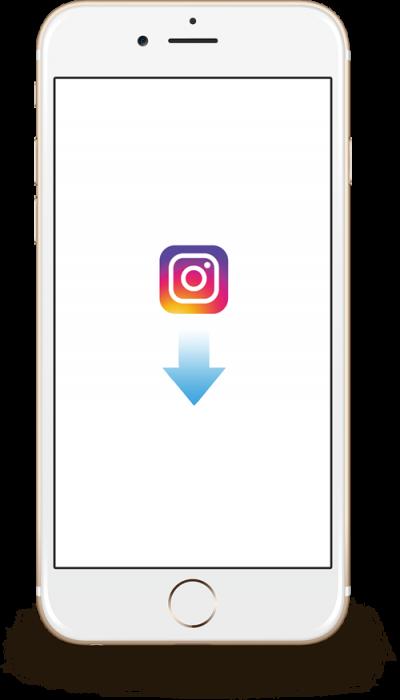 アプリをインストールして、公式アカウントをフォロー