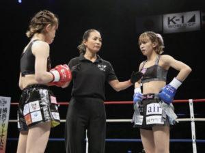 4月.K-1女子格闘家の菅原美優さんとスポンサー契約を締結